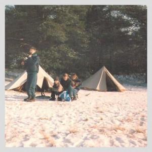 tenten sneeuw