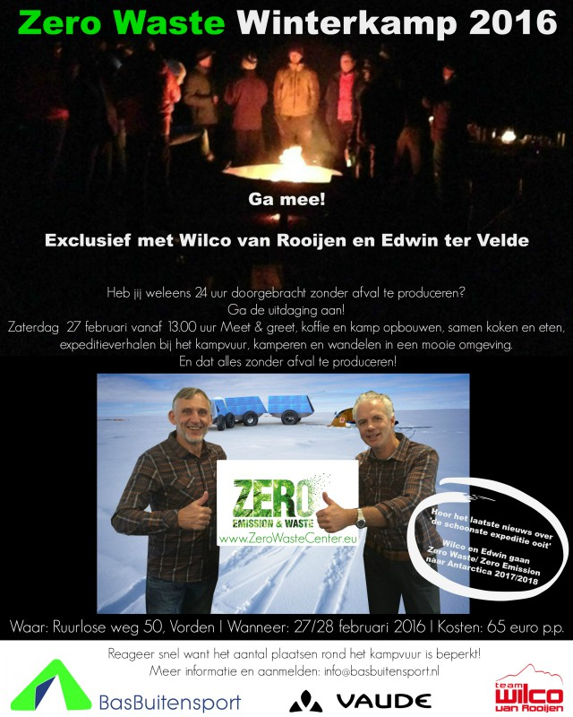 Zero Waste Winterkamp 2016
